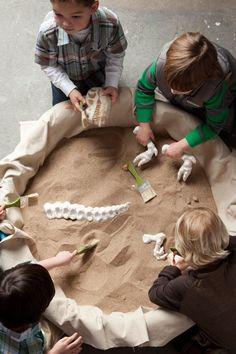 Dino birthday party by bernadette