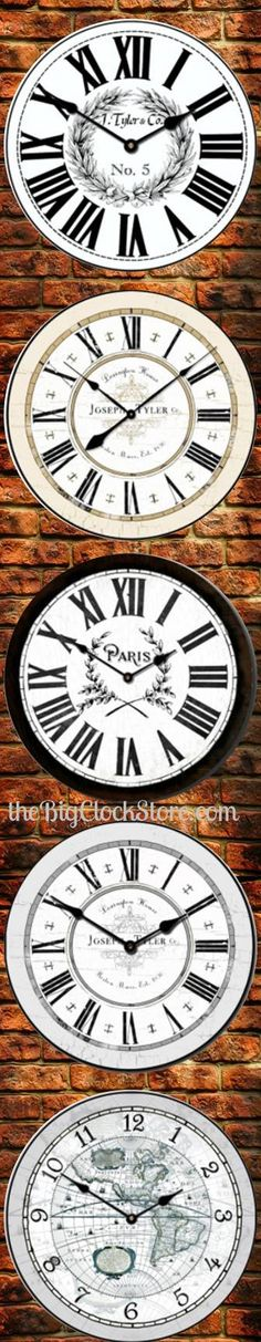 We have clocks for sale online Wall Clock Black And White, White Wall Clocks, Clocks For Sale, Wall Colors, Walls, Outdoor Decor, Blog, Beautiful, Home Decor