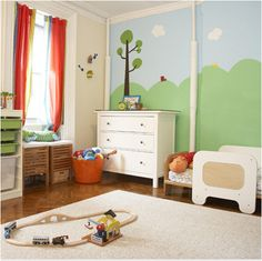 Kids Wall Decals: City Wall Decals for Kids Rooms