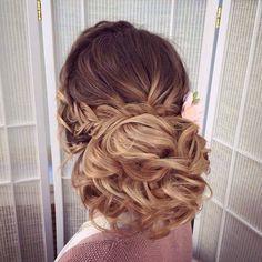 wedding hairstyle updo  via antonina roman