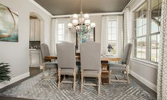 Dining Room - The Evant (2889 Plan)