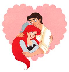 disney the little mermaid ariel eric
