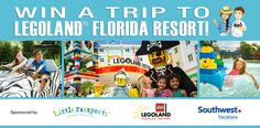 Enter to win a trip to the LEGOLAND® Florida Resort,and a prize package worth more than $3,500!It's a family vacation that's…