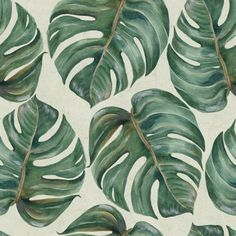 Tropical Leaf Wallpaper | Mind The Gap | Design Vintage