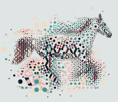 Alhambresque horse by tsevis