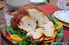 Pierna de cerdo enchilada #Navidad #RecetasparaNavidad #RecetasNavideñas #CenadeNavidad #CenadeNocheVieja #CenadeNocheBuena