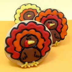 Thanksgiving! turkey cookies for Celebrations | The Decorated Cookie