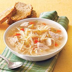 Chicken Noodle Soup #recipe (takes just pennies to prepare)