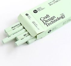 Wood Pencils by Craft Design Technology
