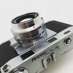 """They don't make them like this anymore #ricoh #camera #cameraporn #filmcamera…"