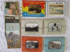 antique mini postcards  Souvenier views  NEW by theartfloozy
