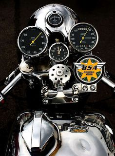BSA Moto Guzzi Cafe Racer - 'Kaffeemaschine 1982 Honda 'Convertible' - Steel Bent Customs - Pipeburn - Purveyors of Classic Motorcy. British Motorcycles, Triumph Motorcycles, Vintage Motorcycles, Custom Motorcycles, Custom Bikes, Cars And Motorcycles, Custom Choppers, Indian Motorcycles, Ducati
