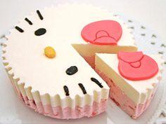 北国からの贈り物「ハローキティ ふんわりクリームケーキ」:おとりよせネット