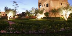 From afar, Rose Garden Resort looks like a small town in the North African desert. #Jetsetter