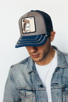 Trucker cap Sweet Chocolate//Hund Goorin Bros