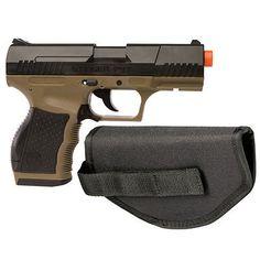 Pistol 160923: Crosman Stinger P9t Soft Air Pistol Dark Earth Black -> BUY IT NOW ONLY: $37.07 on eBay!