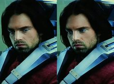Bucky's face in the second picture breaks my heart, it's as if he realized something's wrong.