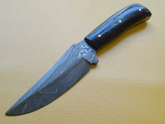 L 206 Handmade Damascus Steel Knife by STCShop on Etsy