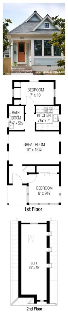 cool Plan #915-16/Whidbey from Tumbleweed Tiny House Co.   557 SF   2 Bed   1 Bath   ... by http://www.danazhome-decorations.xyz/tiny-homes/plan-915-16whidbey-from-tumbleweed-tiny-house-co-557-sf-2-bed-1-bath/