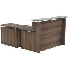 Mayline Sterling L-Shape Reception Desk | Wayfair