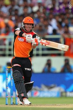 Pace spearhead Trent Boult led the way with 3 wickets after David Warners brisk half-century laid the foundation as Sunrisers Hyderabad (SRH) recorded a win over Kings XI Punjab (KXIP) in the Indian Premier League 2015 (IPL here today. Cricket Time, David Warner, Latest Sports News, Sports Games, Sport Man, Hyderabad, Premier League, Football Helmets, Crickets