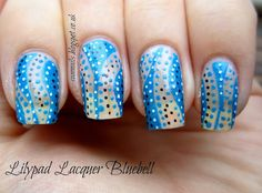 Dots can be a lot faster/easier with a nail art pen.