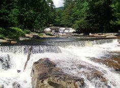 Upper Jackson Falls, Jackson, NH, courtesy of Elwyn Wheaton.