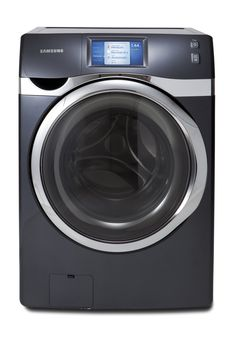 Samsung WF457 Front-Loading Washer (Internet Ready). Dryer model also available.