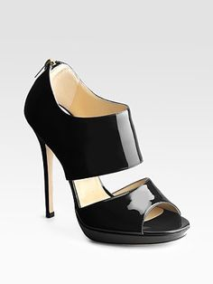 Jimmy Choo! So comfortable. If you have never purchased a pair of Jimmy's, let me tell you that these shoes are so comfortable I can work 10 hours a day is these babies! And I do often work 10 hour days and then switch to flats.