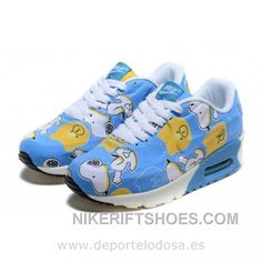 new concept 278d2 59fc8 Nike Air Max 90 Kids Zapatillas Azul Blanco 1003 (Zapatillas Nike Air Max 90)  Lastest MQBKk, Price   64.00 - Nike Rift Shoes