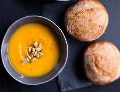 Kurpitsa-omenakeitto, resepti – Ruoka.fi - Pumpkin and apple soup