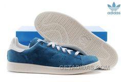 buy popular 1dd79 545d8 Soldes Vue Aaaa Adidas Stan Smith Femme Homme Bleu Blanche Baskets Pas Cher  Online XEzXx, Price   70.00 - Adidas Shoes,Adidas Nmd,Superstar,Originals