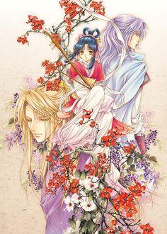 The story of Saiunkoku Manga Art, Manga Anime, Anime Art, Manhwa Manga, Saiunkoku Monogatari, Natsume Yuujinchou, Kaichou Wa Maid Sama, Manga Love, Animation