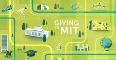 MIT Website Spots on Behance