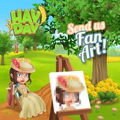 ...... Hay Day, Fan Art, Games, Fictional Characters, Gaming, Ideas, Fanart, Toys, Game