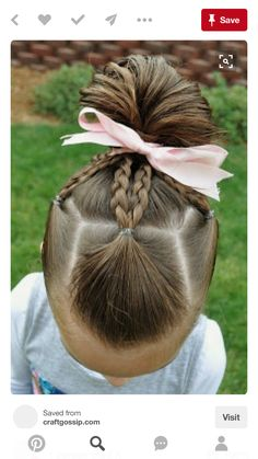 This easy hairstyles for school truly are fabulous! This easy hairstyles for school truly are fabulous! Easy Little Girl Hairstyles, Girls Hairdos, Baby Girl Hairstyles, Princess Hairstyles, Hairstyles For School, Pretty Hairstyles, Braided Hairstyles, Teenage Hairstyles, Black Hairstyles