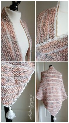 l'instant campagne.: Un shawl confortable et son snood ! (tutos inside !)