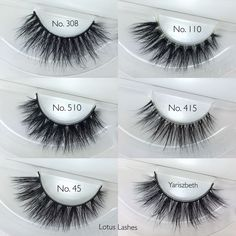 289cac7e180 My 3 Favorite 3D Mink @LillyLashes are finally restocked 1.