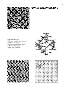 B.Cook - Libro Puntos de Encaje d.. Lace Patterns, Bobbin Lace, Albums, Ideas, Lace, Bobbin Lace Patterns, Point Lace, Journals, Tutorials