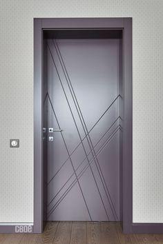 Door Design Interior, Interior Modern, Modern Door, Main Door, Decorative Panels, Armoire, Doors, Contemporary, Wall