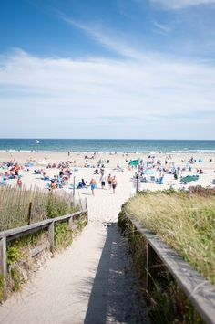 Halfway between high tide and low tide, when the current of the Ogunquit River flows swiftly out to the Atlantic, people congregate on the f...