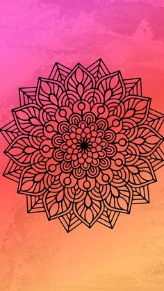 Mandala Doodle, Mandala Drawing, Doodle Art, Cute Wallpapers, Wallpaper Backgrounds, Iphone Wallpaper, Celtic Patterns, Diy Wall Art, Pattern Wallpaper