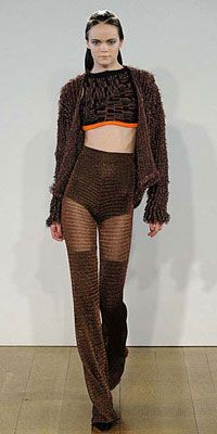 Craig Lawrence cropped knitwear for AW12!