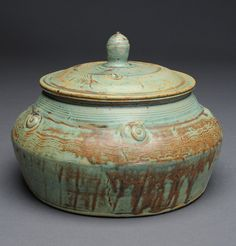 #1 Stoneware, reduction fired