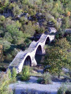 zagori / Pindos / Epirus/ GREECE Places Around The World, Around The Worlds, Old Bridges, Easy Jet, Republic Of Macedonia, Crete Island, Greek Isles, What A Wonderful World, Greece Travel