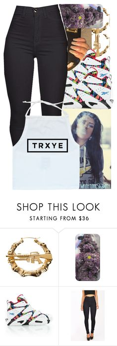"""""""Cheif Keef~going home"""" by wntrtimeshawty ❤ liked on Polyvore featuring Melody Ehsani and Reebok"""