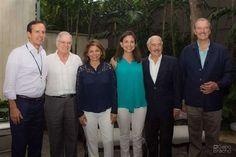 <p>Llegado al Aeropuerto de Maiquetía (Caracas) los cinco expresidentes latinoamericanos que participarán como observadores en la consulta convocada por la oposición venezolana para este domingo, 16 de julio, para preguntar a la ciudadanía su opinión sobre diversos temas, entre ellos la Asamblea Constituyente que ha impulsado el Gobierno de Nicolás Maduro.</p>