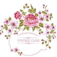 Resultado de imagen para bordes florales vintage
