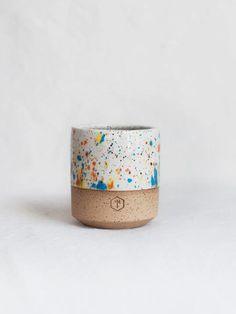Sprinkles Short Mug tea mug, ceramic mug, tea mugs, ceramic mugs, beautiful tea mug Pottery Mugs, Ceramic Pottery, Ceramic Cups, Ceramic Art, Keramik Design, Pottery Designs, Ceramic Painting, Sprinkles, Stoneware