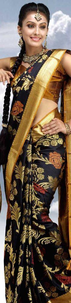Silk Saree - original pin by @webjournal